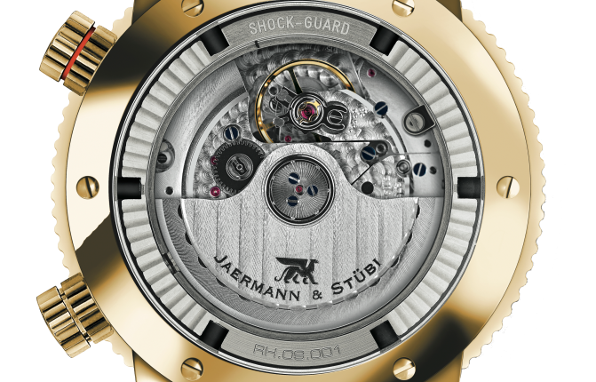 Jaermann & Stübi - The Timepiece of Golf - TECHNOLOGY: Shock Absorber