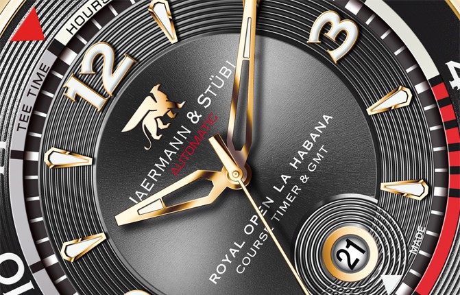 Royal Open Course Timer La Habana & GMT RH1 Closeup